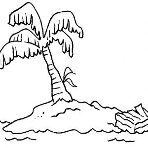 Palmier dessin #04