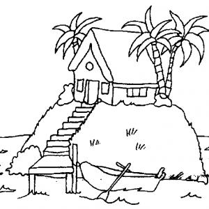 Palmier dessin #05