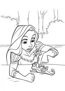 Raiponce sauve Pascal de la noyage