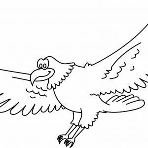 Aigle 01 - motif à imprimer