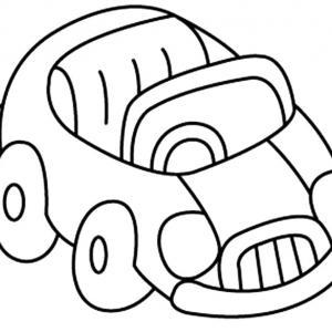 Auto 05 - motif à imprimer