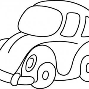 Auto 08 - motif à imprimer