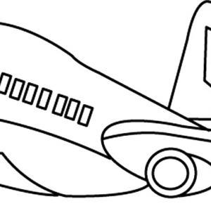 Avion 09 - motif à imprimer