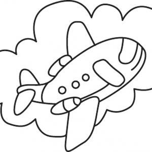 Avion 11 - motif à imprimer