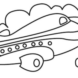 Avion 12 - motif à imprimer