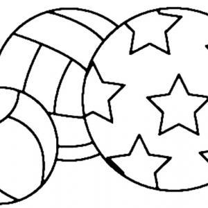 Ballon 03 - motif à imprimer