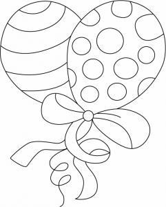 Ballon 06 - motif à imprimer