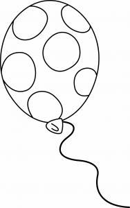 Ballon 08 - motif à imprimer