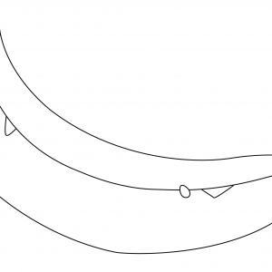 Banane 03 - motif à imprimer