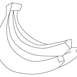 Bananes 02 - motif à imprimer