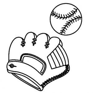 Baseball 02 - motif à imprimer