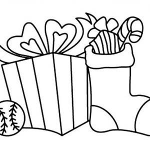 Bottes de Noël 02 - motif à imprimer
