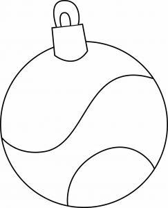 Boules de Noël 14 - motif à imprimer