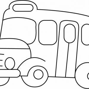 Bus 03 - motif à imprimer