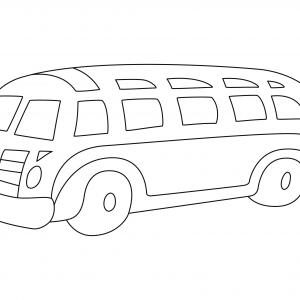 Bus 04 - motif à imprimer