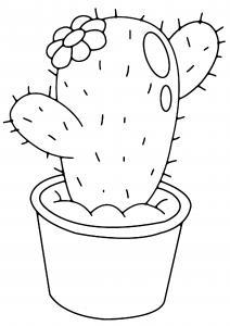 Cactus 03 - motif à imprimer