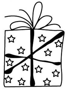 Cadeau 02 - motif à imprimer