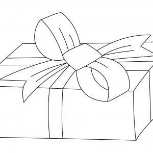 Cadeau 07 - motif à imprimer