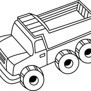 Camion 01 - motif à imprimer
