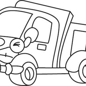 Camion 02 - motif à imprimer