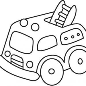Camion 04 - motif à imprimer
