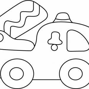 Camion 06 - motif à imprimer