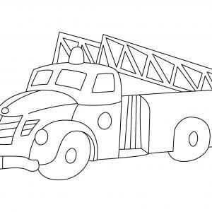 Camion 09 - motif à imprimer