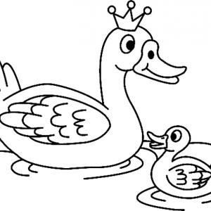 Canard 03 - motif à imprimer