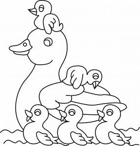 Canard 15 - motif à imprimer
