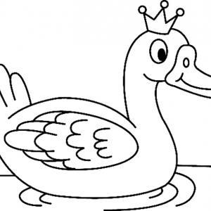 Canard 19 - motif à imprimer