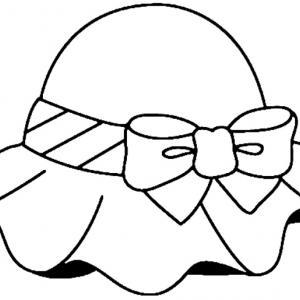 Chapeau 01 - motif à imprimer