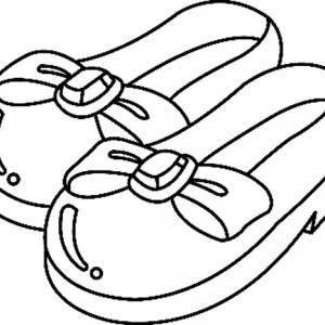 Chaussures 02 - motif à imprimer