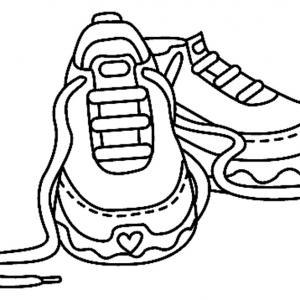 Chaussures 03 - motif à imprimer