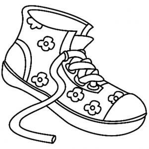 Chaussures 04 - motif à imprimer