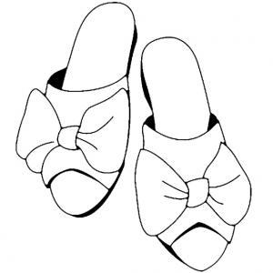 Chaussures 05 - motif à imprimer