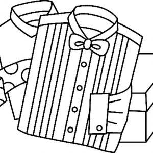 Chemises 01 - motif à imprimer