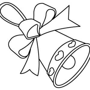 Le dessin de cloche avec son ruban est un joli coloriage de cloches. Un dessin aux traits épais, adaptés aux plus petits et facilement utilisable comme motif à reporter sur tous vos supports. Retrouvez des centaines d'autres coloriages de cloches à imprim