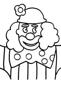 Clown 16 - motif à imprimer