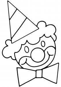 Clown 18 - motif à imprimer