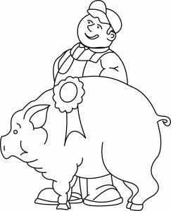 Cochon 06 - motif à imprimer