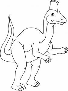 Corithosaurus - motif à imprimer