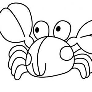 Crabe 02 - motif à imprimer