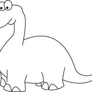 Dinosaure 09 - motif à imprimer