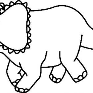 Dinosaure 12 - motif à imprimer