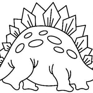 Dinosaure 14 - motif à imprimer