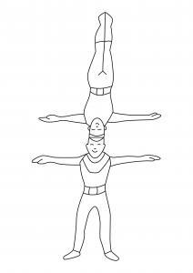 Equilibristes 01 - motif à imprimer