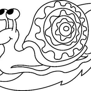 Escargot 02 - motif à imprimer