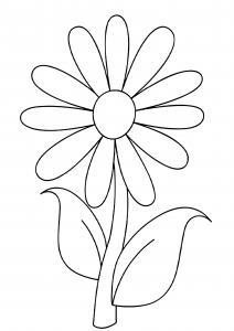 Fleur 001 - motif à imprimer