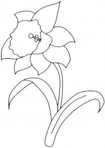 Fleur 002 - motif à imprimer