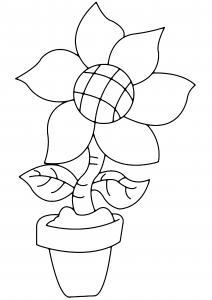 Fleur 005 - motif à imprimer
